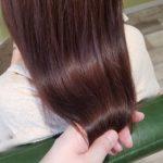 縮毛を矯正する